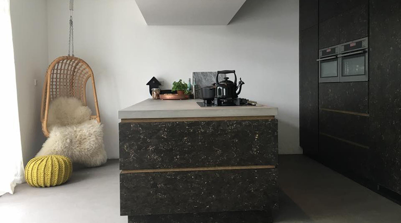 Stoere Keuken Grey : Keuken colorvlok