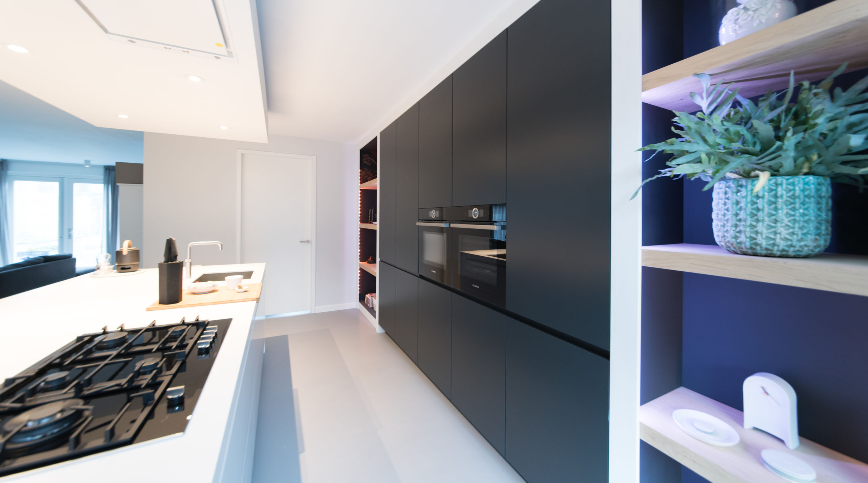 Einde Witte Keuken : Hi macs keuken td keuken & interieurs baars & bloemhoff