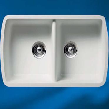 Hi-Macs® keukenbak CS800D S-28 - HI-MACS gegoten Wasbakken
