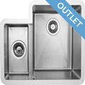Edgesinks Double Sink PFRE 350 L Wasbak product photo